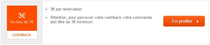 Cashback Flixbus réduction