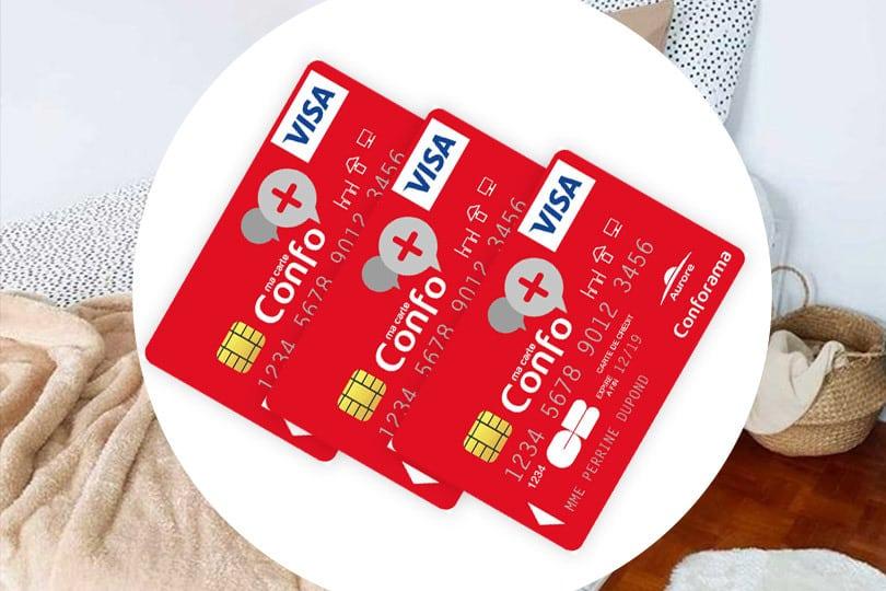 La carte Confo + 1