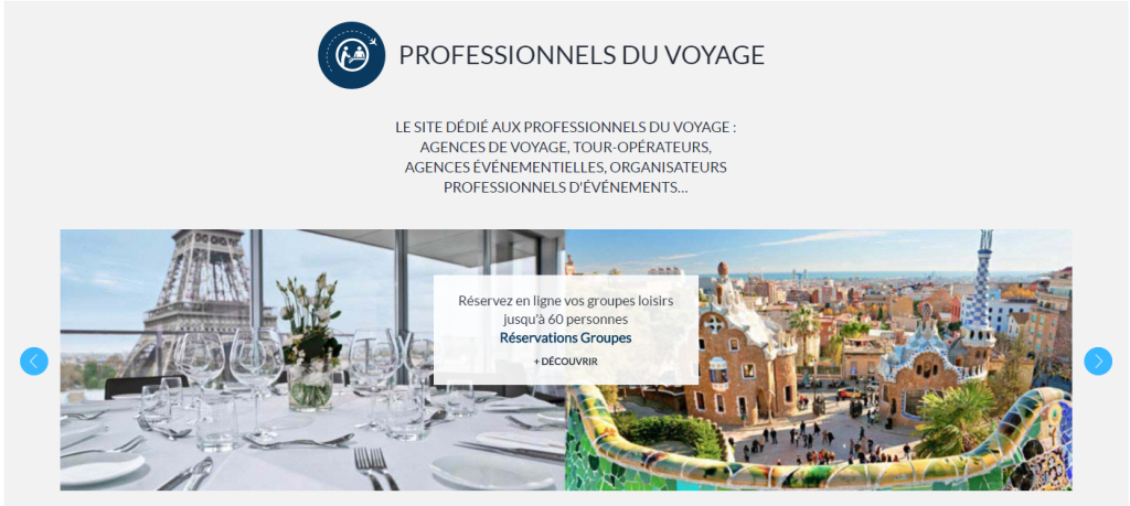 Accorhotels professionels du voyage