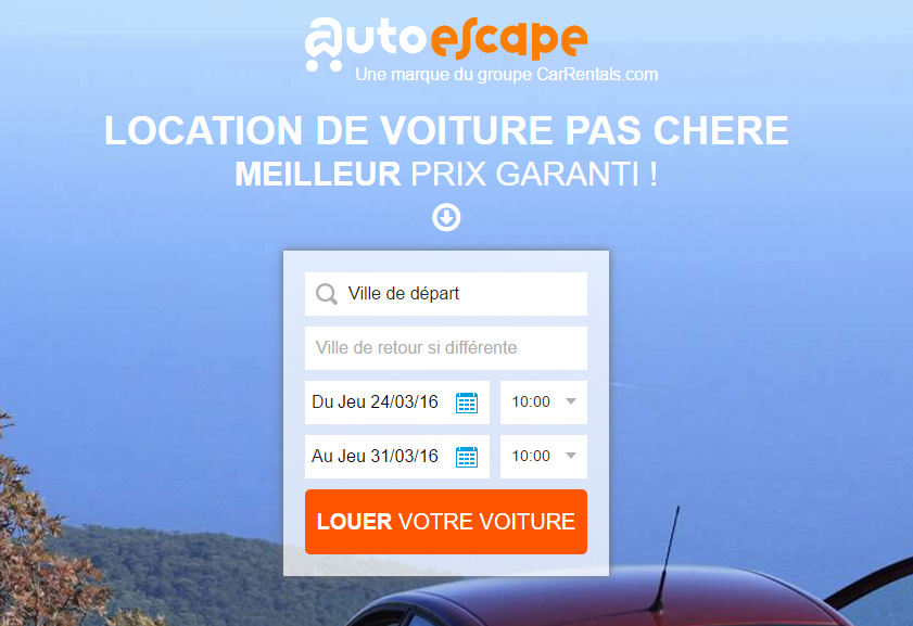 Auto escape expedia