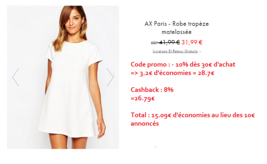 exemple outlet asos