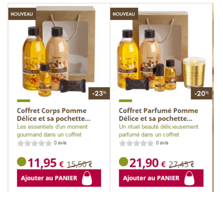 exemple promo yves rocher