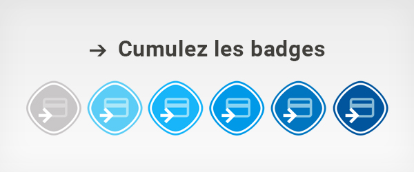 collectez des badges