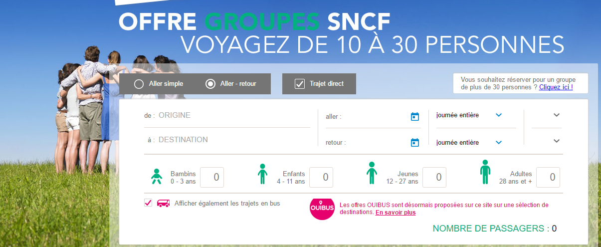 offre groupes sncf