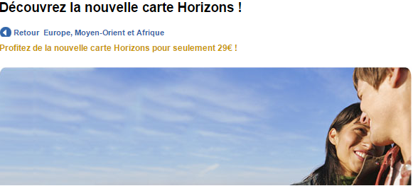 carte horizons hertz