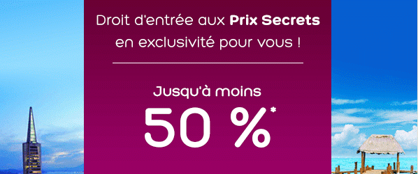 Prix secrets hotels.com