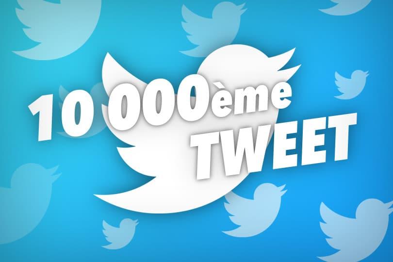 10000 tweets !