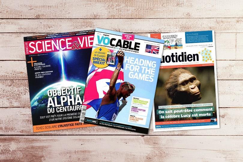 promo magazine presse