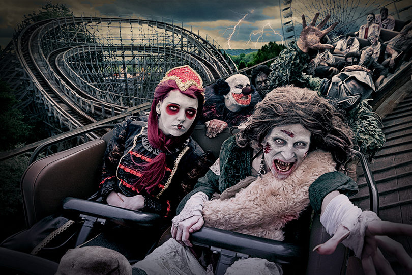 Parcs d'attraction : soirées d'Halloween en promo 1