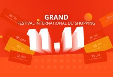 Nos meilleures promos pour le Festival International du shopping ! 11