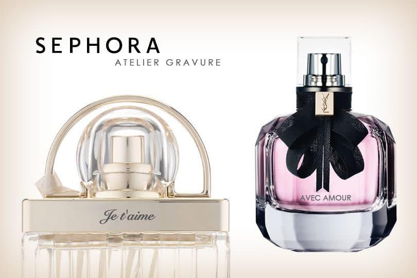 Economisez sur la gravure de votre parfum Sephora 1