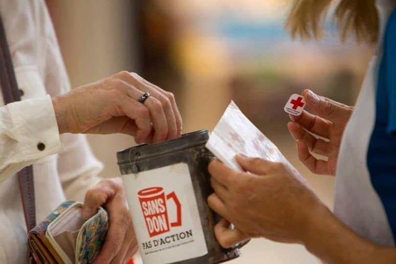 iGraal cashback Croix rouge don