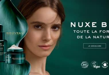 Nuxe, la nouvelle gamme bio 9