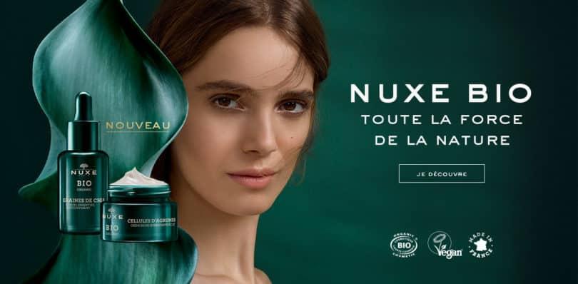 Nuxe, la nouvelle gamme bio 1