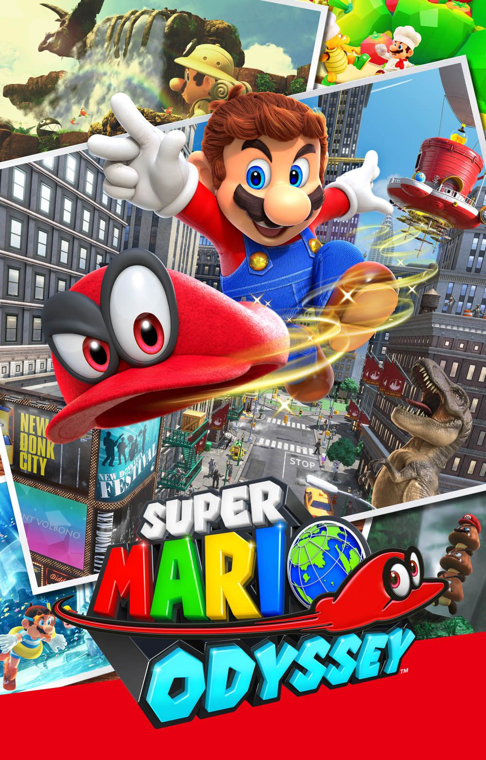 Super Mario Odyssey Noël