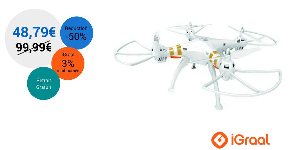 Soldes Drones : jusqu'à -50% ! 6