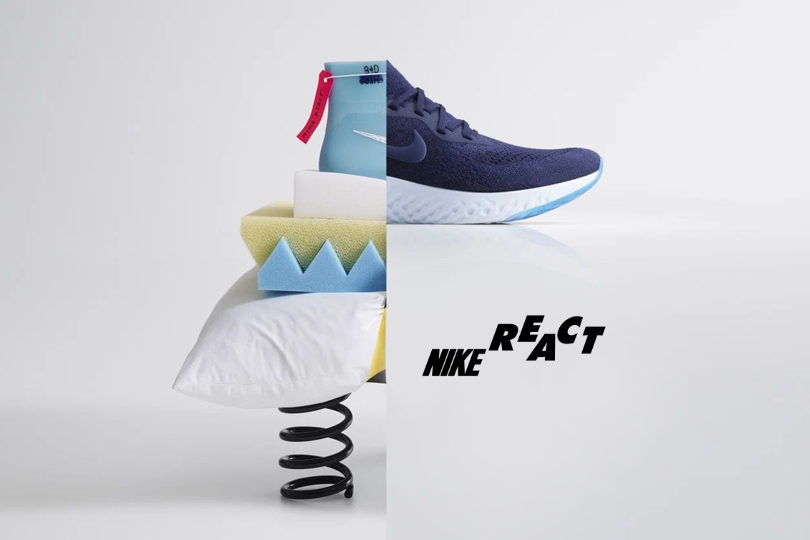 Nike React révolutionne le running 1