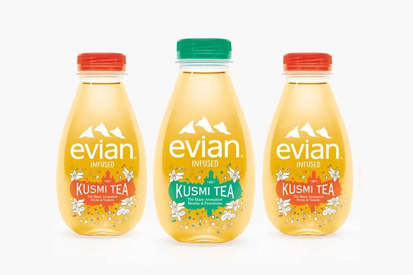 Du cashback chez Kusmi Tea avec Evian Chez Vous ! 1