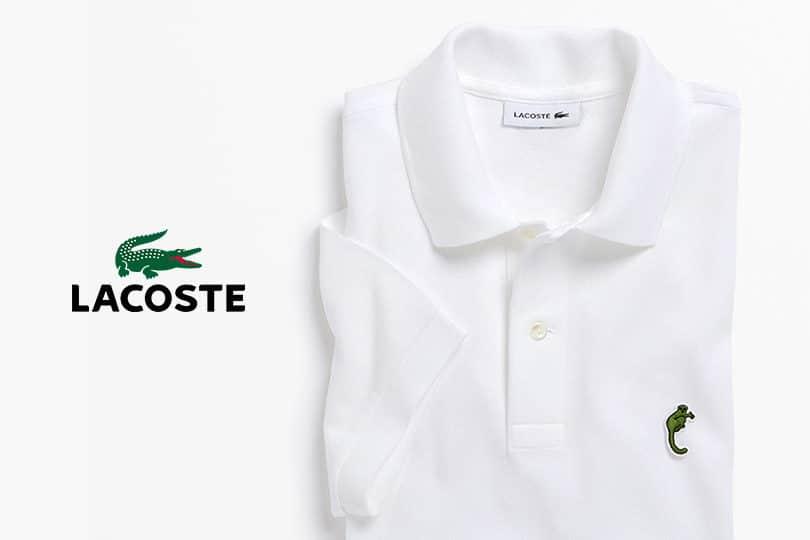 Lacoste change son logo : une édition limitée ! 1