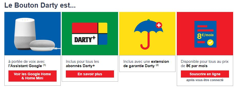 Le Bouton Darty est disponible sur Google Home ! 2