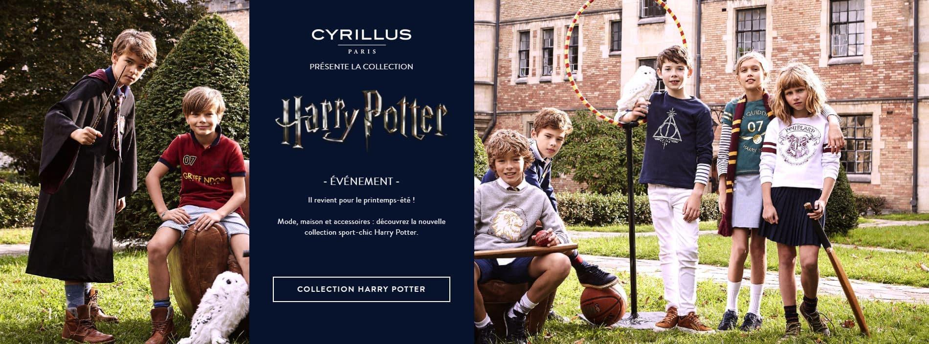 Cyrillus lance une collection Harry Potter 2