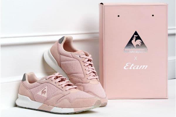 Etam x Le Coq Sportif : des sneakers inédites à tomber 3