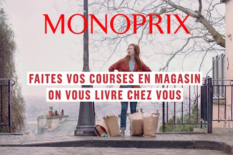 Découvrez la nouvelle campagne de pub Monoprix ! 1