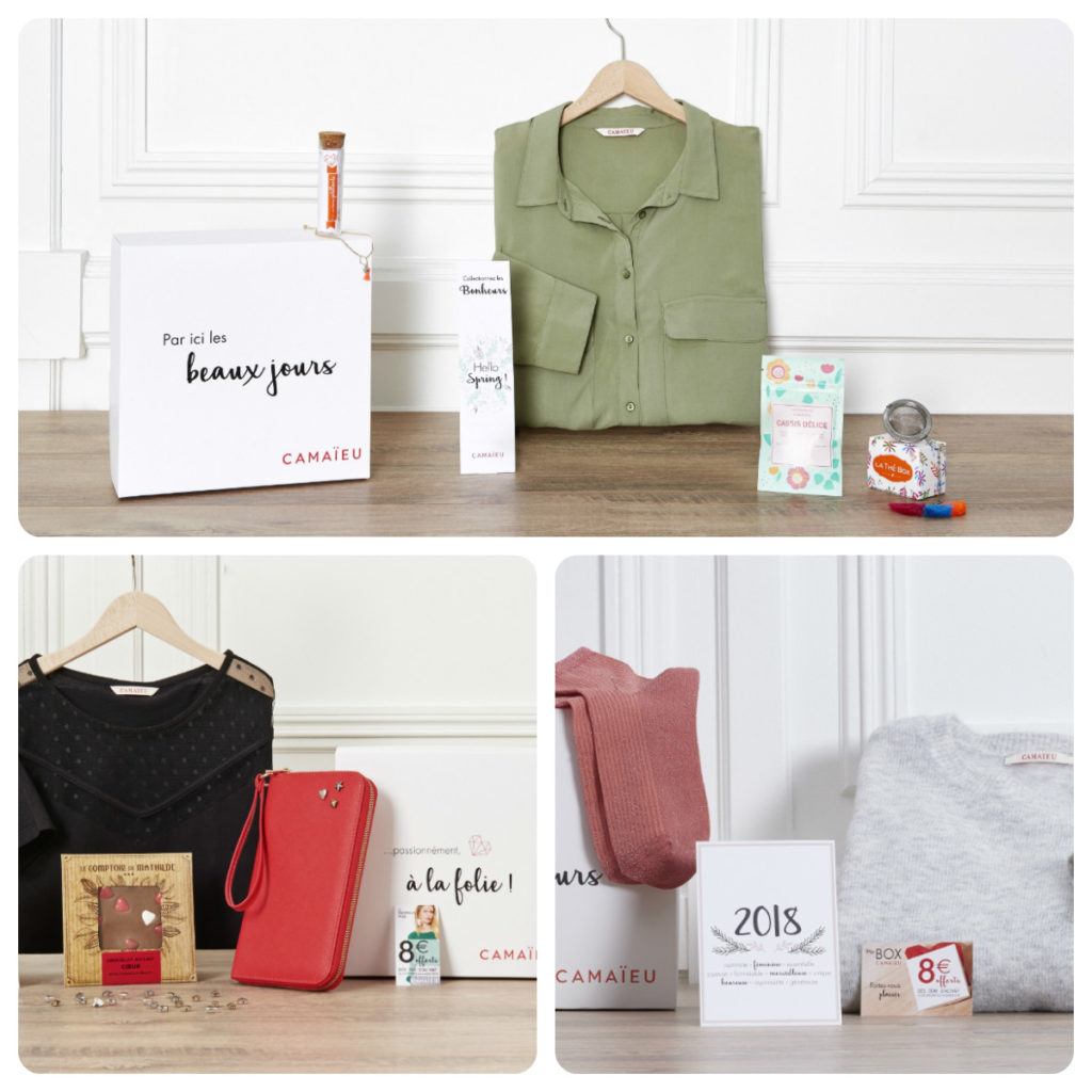 La Box Camaieu : la mode chez vous 2