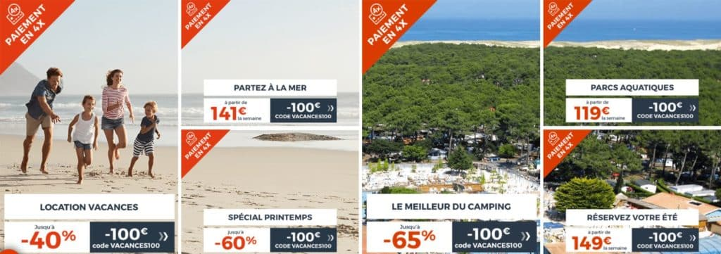 offres de promos cdiscount voyages en France