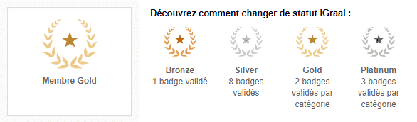 Badges iGraal