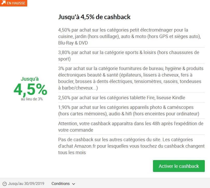 Le Cashback Amazon Comment ça Marche
