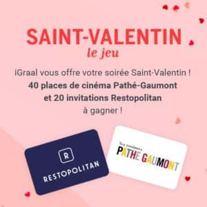 Jeu Saint-Valentin 2