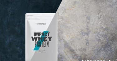 Myprotein : -40% sur TOUT + 9% remboursés + livraison gratuite 33