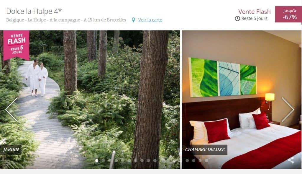 Photo chambre et environnement d'un hôtel avec Spa