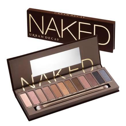 Naked, l'emblématique palette Urban Decay, fards à paupières en promo à -30%