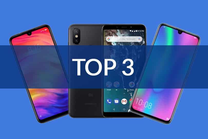Top 3 des smartphones à - de 200€ 1