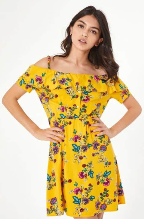 Printemps-été 2019 : robes à fleurs à moins de 40€ 4