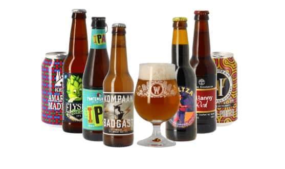 Box mensuelle Saveur Bière.