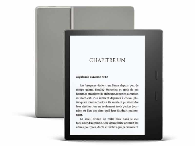 Amazon : la nouvelle liseuse Kindle Oasis 2