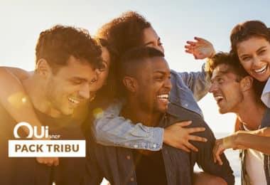 25% de Réduction sur les billets de tgv avec le Pack Tribu OUI.sncf