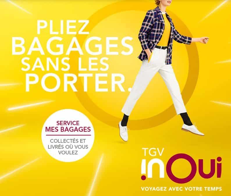 Vos bagages retirés et livrés où vous voulez avec ce service OUI.sncf