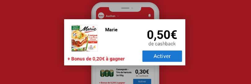 Téléchargez iGraal Market : l'app' de cashback en supermarché 3