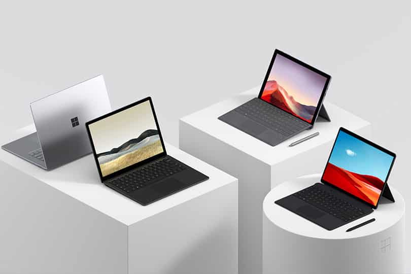 Surfaces Microsoft