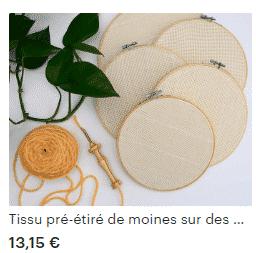 Punch Needle : la broderie en relief : se lancer pour moins de 50€. 3
