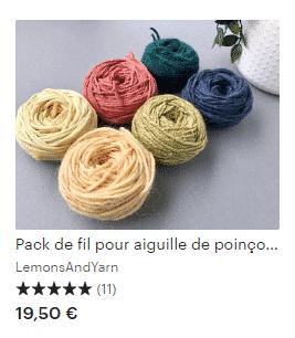 Punch Needle : la broderie en relief : se lancer pour moins de 50€. 4