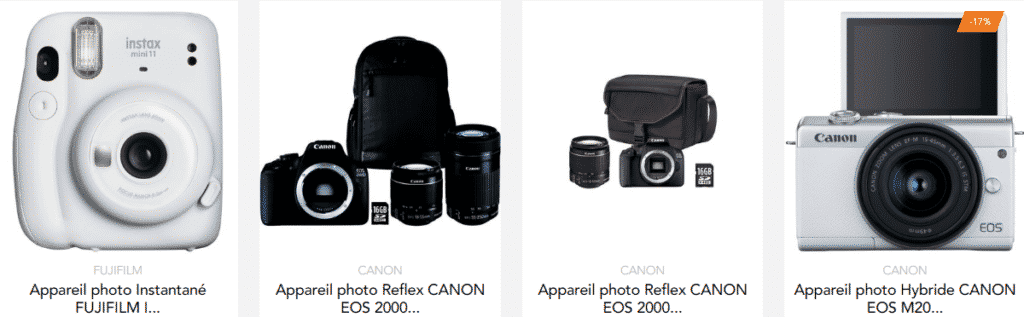 3 sites pour acheter son appareil photo avec cashback ! 1