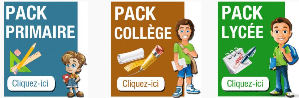 Rentrée & Fournitures scolaires : 3 sites, 0 prise de tête 3