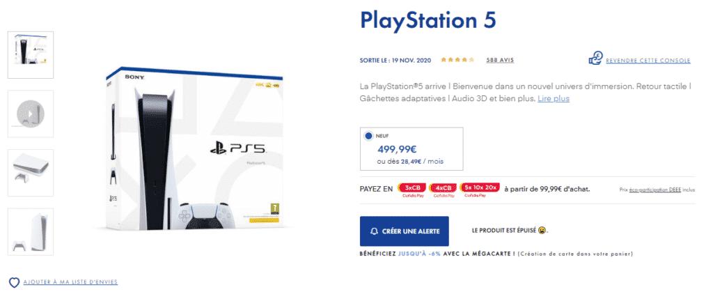 Où acheter la PlayStation 5 au meilleur prix ? 1