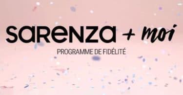 Le programme de fidélité Sarenza+Moi 121