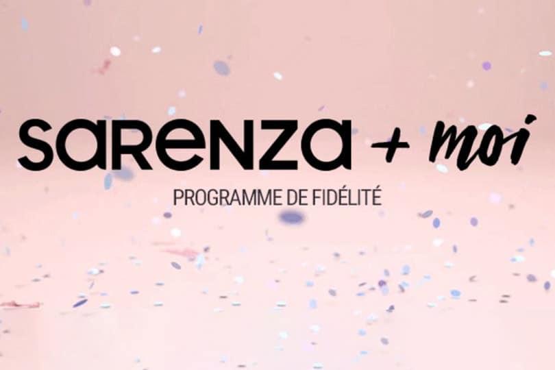 Le programme de fidélité Sarenza+Moi 1